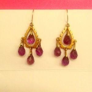 Metropolitan Museum of Art Amethyst Earrings